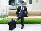 Retrato de hombre de negocios — Foto de Stock