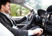 Bilförare — Stockfoto