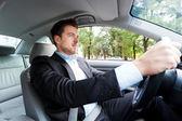 Conductor del coche — Foto de Stock