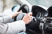 Motorista de carro — Foto Stock