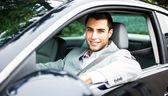 Man autofahren — Stockfoto