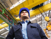 Engineer at work — Foto Stock