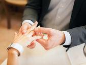 Heiratsantrag — Stockfoto