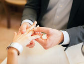 Propuesta de matrimonio — Foto de Stock