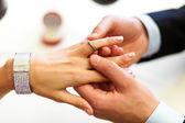 Zásnubní prsten — Stock fotografie