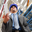 Engineer at work - Stock Photo