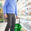 Royalty-Free Stock Photo: Man shopping at the supermarket