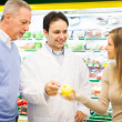 Shopping at the supermarket — Stock Photo #23284076