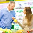 Fruit shopping — Stock Photo