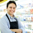 Stock Photo: Shopkeeper portrait