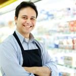 Shopkeeper portrait — Stock Photo #23284534