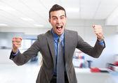 Very happy man — Foto de Stock