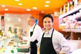 Obchod s potravinami — Stock fotografie