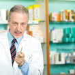 Pharmacist at work — Stock Photo #23608303