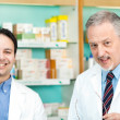 Pharmacists at work — Stock Photo