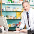 Stock Photo: Pharmacist