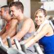 Stock Photo: Fitness club