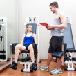 Personal trainer — Stock Photo