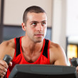 Man doing fitness — Stock Photo #23609439