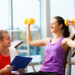Personal trainer — Stock Photo #23609961