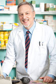 Pharmacist at work — Stock Photo
