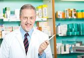 Pharmacist at work — Stock Photo