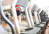 Treadmills — Stock Photo