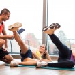 Fitness lesson — Stock Photo
