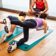 Fitness lesson — Stock Photo #23610421