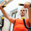 Pectoral workout — Stock Photo