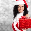 Christmas girl — Stock Photo #24037643