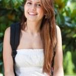 Smiling student portrait — Stock Photo