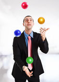 Juggler — Stock Photo