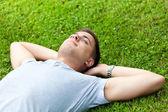 Estudiante relajante — Foto de Stock