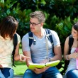 Group of students — Stock Photo #24040167