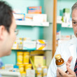 Pharmacist at work — Stock Photo #24040849