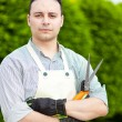 Gardener portrait — Stock Photo