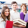 Group of happy students — Stock Photo #27205575