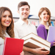 Group of happy students — Stock Photo #27205591