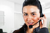 Phone operator — Stock Photo