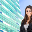 Stock Photo: Young businesswoman portrait