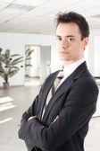 Succesful businessman — Stock Photo