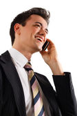Businessman at phone. — Stock Photo