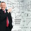 Stock Photo: Math formulas