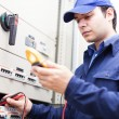 Electriciat work — Stock Photo #30136707