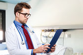 Doctor at work — Stock Photo