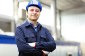 Young worker portrait — Stock Photo