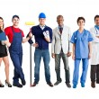 Group of workers — Stock Photo #30186795