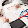 Doctors at work — Stock Photo #30187267