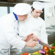 Chefs at work — Stock Photo #30860851